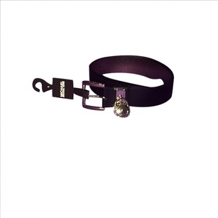 Michael Kors Michael Kors Black Leather Belt