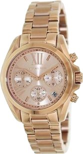 Michael Kors Michael Kors Bradshaw Mini Rose Gold-tone Chronograph Ladies Watch Mk5799