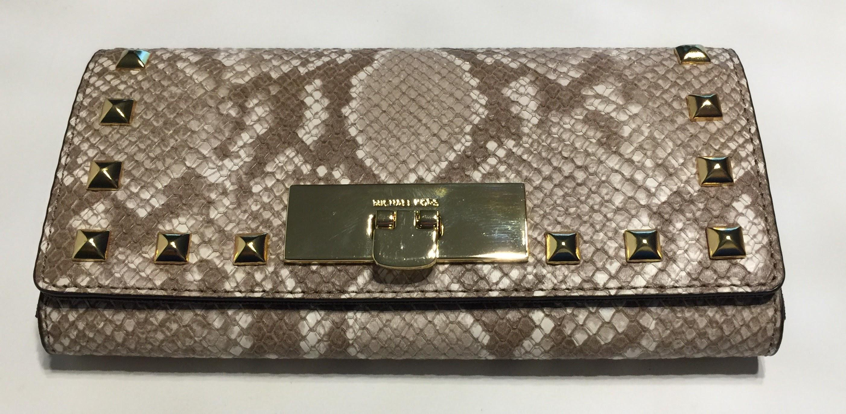 981dcbbd168f Buy michael kors python wallet   OFF73% Discounted