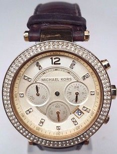 Michael Kors Michael Kors Chronograph Ladies Watch Mk2249 Broken For Parts