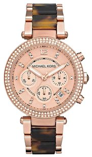 Michael Kors Michael Kors Mk5538 Womens Watch Rose Gold Tone -