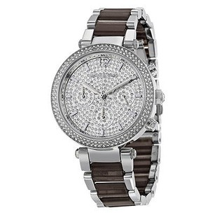 Michael Kors Michael Kors Parker Crystal Pave Dial Chronograph Mens Watch