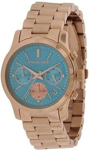 Michael Kors Michael Kors Runway Rose Gold-tone Ladies Watch Mk6164