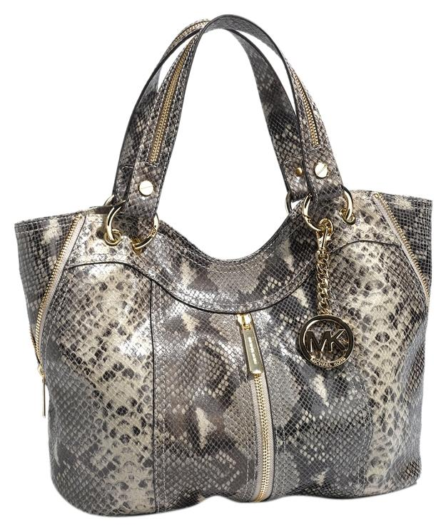 44249e06cb ... bag in black where to buy michael kors moxley gold hardware embossed  leather two handles tote in dark sand ...