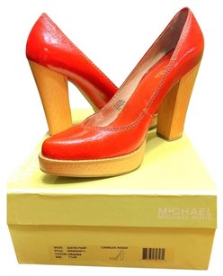 Michael Kors Orange Platforms