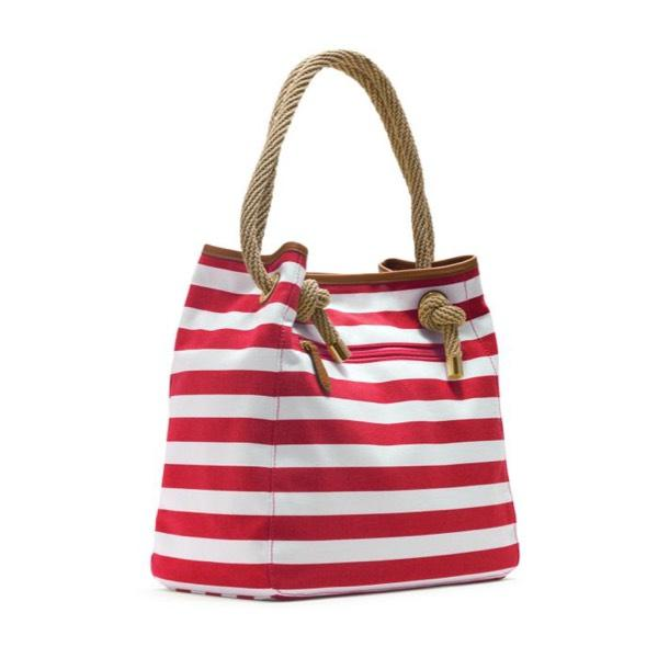 e0bed55d07a1 ... best michael kors red white striped marina grab tote beach bag tradesy  b83c1 1c9f1