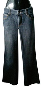 Michael Kors Relaxed Fit Jeans-Dark Rinse