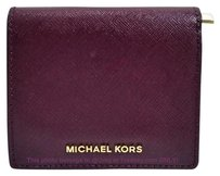 Michael Kors Sale!! NWT Michael Kors Patent Bi-fold Billfold Wallet Coin Purse