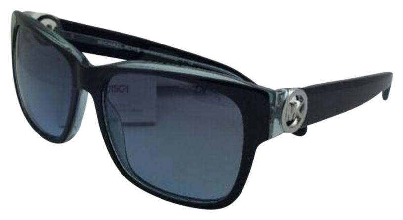 Michael Kors New MICHAEL KORS Sunglasses SALZBURG MK6003 300117 Black-Blue  Frame w/ Blue ...