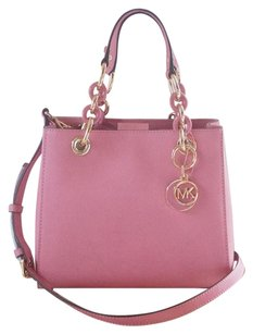 Michael Kors Satchel in Misty Rose