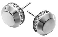 Michael Kors with BONUS..LAST Silver Tone Astor Stud Earrings