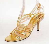 Michael Kors Party Perfection Gold Sandals