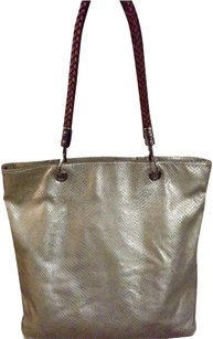 Michael Kors Tote in Metallic Embossed Lizard