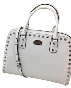 Michael Kors Women's Satchel in ARCTIC WHITE