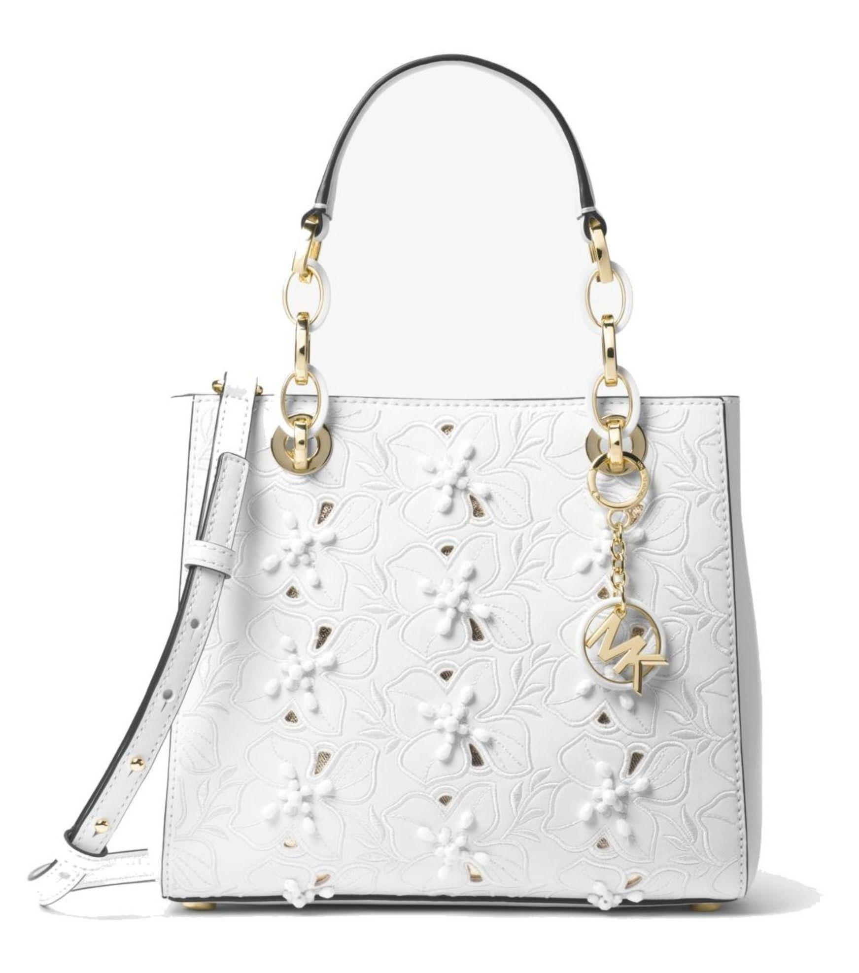 646304194 ... leather medium tote bag 89ccd 5fd15; buy michael michael kors satchel  in optic white 81afe c99d2