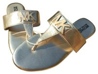 MICHAEL Michael Kors Gold Sandals