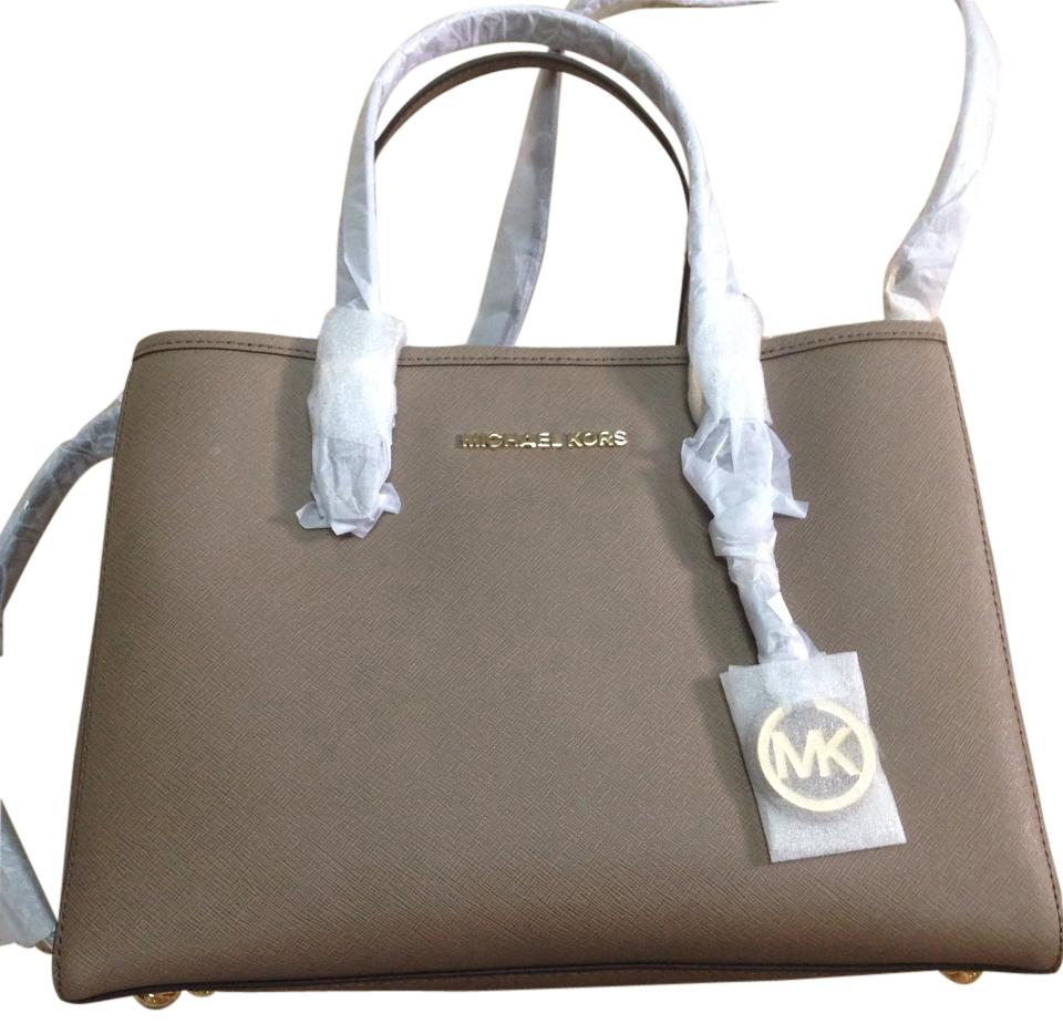 d17e1dc20a9a ... sale michael michael kors jet set travel multifunction tote shop 289a6  fa042 official michael michael kors tote in dark dune 00fd8 1497a ...