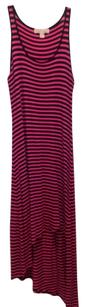 Pink and navy Maxi Dress by MICHAEL Michael Kors