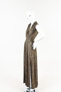 Black, Brown Maxi Dress by MICHAEL Michael Kors Black