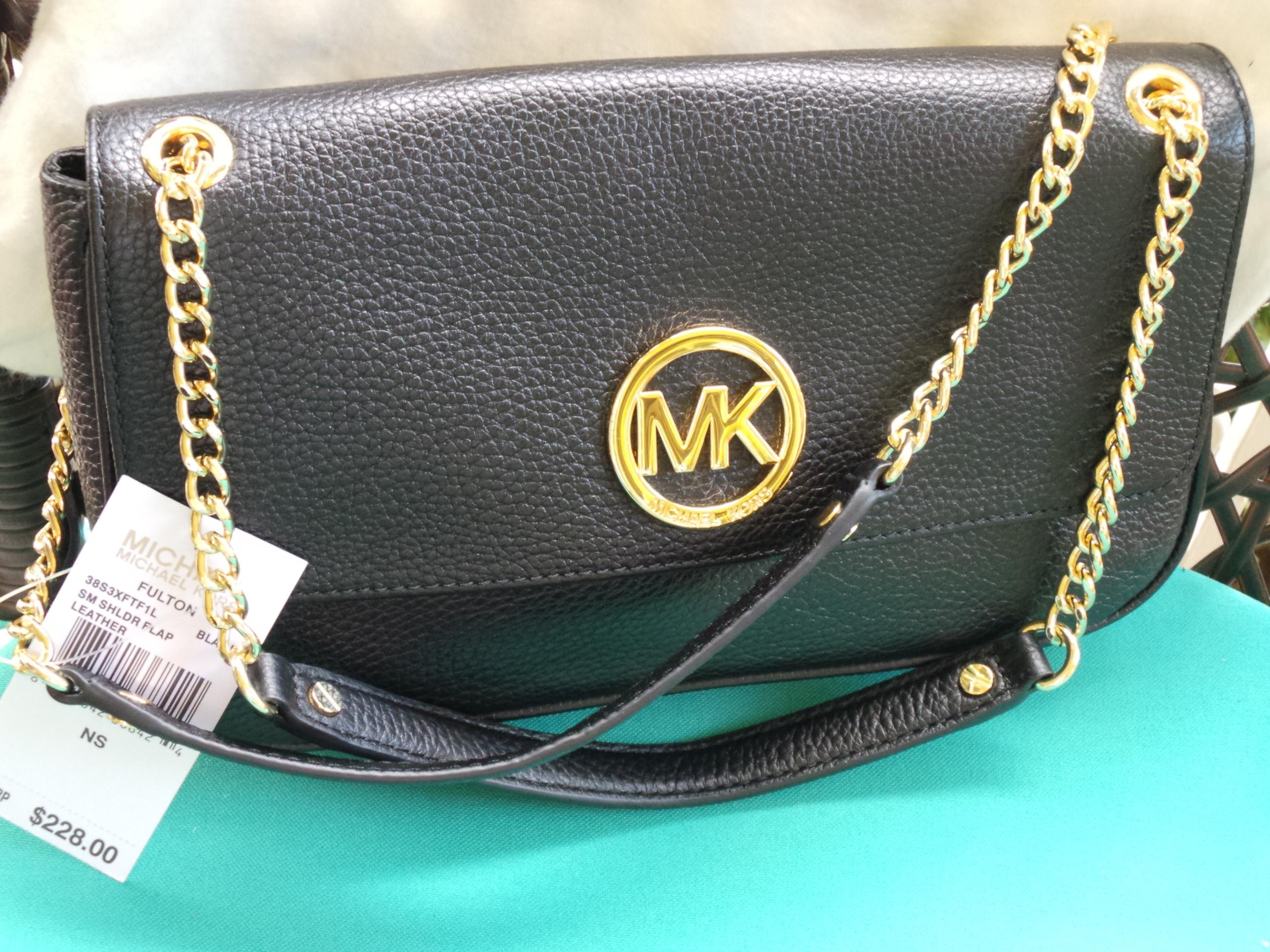 ... sale michael michael kors mmk fulton beautiful black pebbled leather  shoulder bag tradesy 08235 f0101 681a7760dab4a