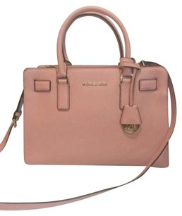 MICHAEL Michael Kors Dillon Satchel in Pale Pink