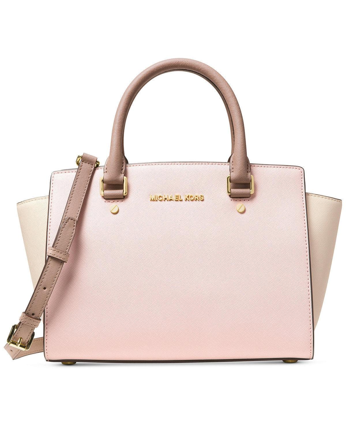 d3fbd58863a9b4 ... bag cinder c0f15 a9fcb; coupon code for michael michael kors colorblock  color block color blocking selma medium satchel in soft