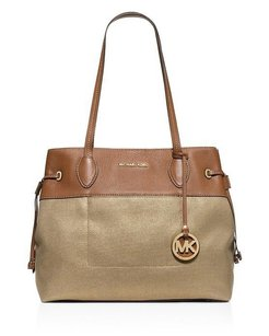 MICHAEL Michael Kors Marina East West Canvas Tote Shoulder Bag