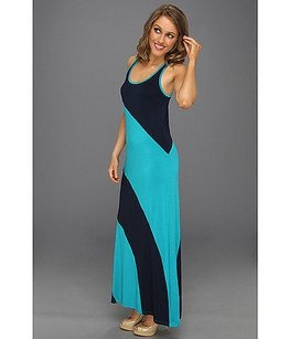 Blue turq Maxi Dress by Michael Stars Stella Night Sky Blue Maxi