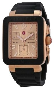 Michele AUTHENTIC MICHELE JELLY ROSE GOLD TONE WOMEN'S WATCH