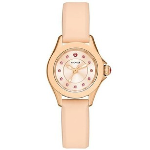 Michele MICHELE Cape Mini Pink Dial Ladies Casual Watch MWW27B000001