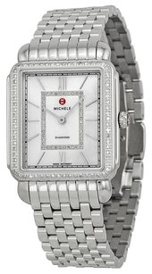 Michele Deco II Mother of Pearl Diamond Stainless Steel Ladies Watch