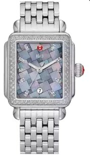 Michele MICHELE Deco Diamond, Grey Mosaic Diamond Dial Watch MW06T01A1977