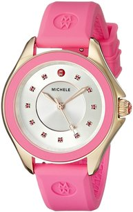 Michele MICHELE Women's MWW27A000008 Cape Analog Display Analog Quartz Pink Watch