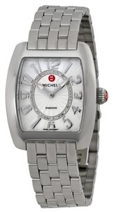 Michele MWW02A000585 Urban Mini Silver Dial Stainless Steel Ladies Watch