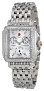Michele MWW06P000110 Deco Day Mother of Pearl Stainless Steel Ladies Watch
