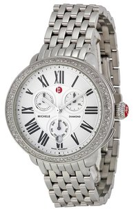 Michele MWW21A000001 Serein Silver Dial Stainless Steel Ladies Watch