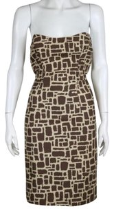 MILLY Womens Printed Dress