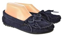 Minnetonka Womens Blue Flats