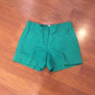 Mint Dress Shorts Green