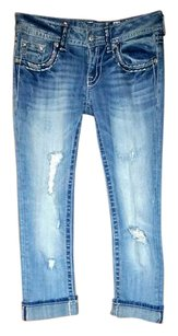 Miss Me Capri/Cropped Denim
