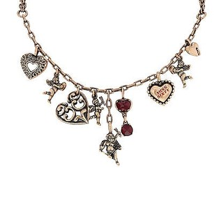 Miss Sixty Miss Sixty Collana Collection Bronze Charm Ladies Necklace