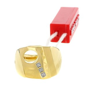 Miss Sixty Miss Sixty Plated Yellow Gold With Diamond Ladies Ring