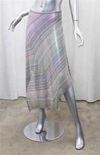 Missoni Womens Greenpurple Skirt Multi-Color