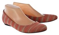 Missoni Womens Pink Ballet Multi-Color Flats