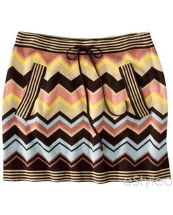 Missoni For Target Sweater Mini Skirt Browns