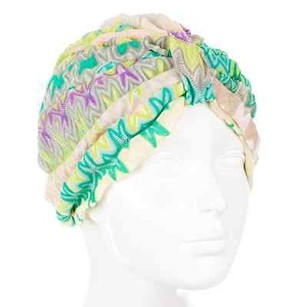 Missoni Missoni Knit Chevron Hat W Tags Beach Turban