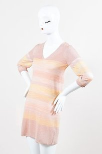 Missoni short dress Pink, Multicolor Pink on Tradesy