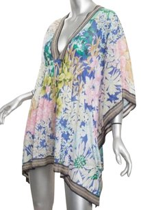 Missoni short dress Multi-Color Mare Blue Floral on Tradesy