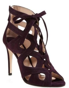 Miu Miu Purple Suede Sandals