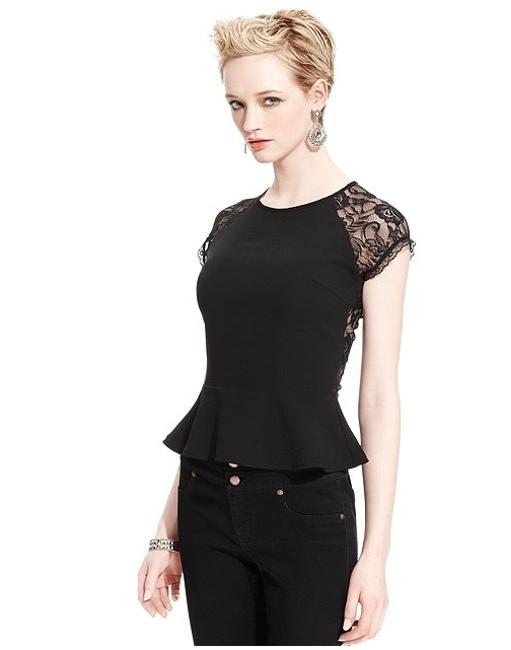 MM Couture One Of A Kind Elegant Romantic Stunning Top